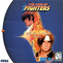 Box cover for King of Fighters: Dream Match 1999 on the Sega Dreamcast.