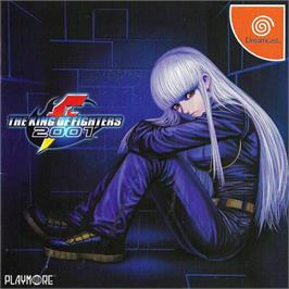 Box cover for King of Fighters 2001 on the Sega Dreamcast.