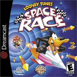 Box cover for Looney Tunes Space Race on the Sega Dreamcast.