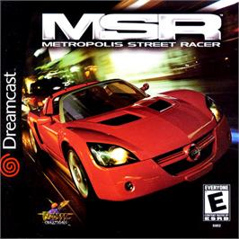Box cover for Metropolis Street Racer on the Sega Dreamcast.