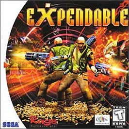 Box cover for Millennium Soldier: Expendable on the Sega Dreamcast.