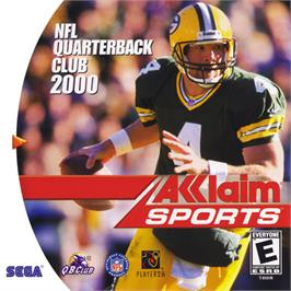 Box cover for NFL Quarterback Club 2000 on the Sega Dreamcast.