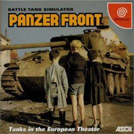Box cover for Panzer Front on the Sega Dreamcast.