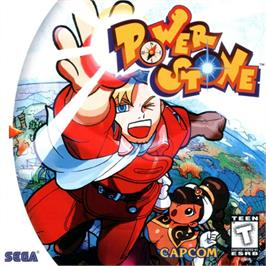 Box cover for Power Stone on the Sega Dreamcast.