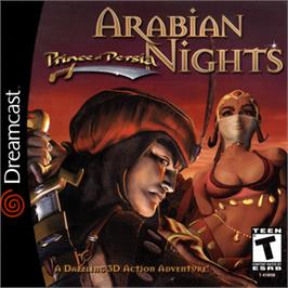 Box cover for Prince of Persia: Arabian Nights on the Sega Dreamcast.