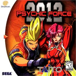 Box cover for Psychic Force 2012 on the Sega Dreamcast.