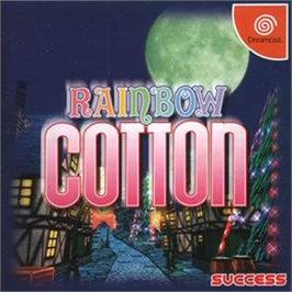 Box cover for Rainbow Cotton on the Sega Dreamcast.