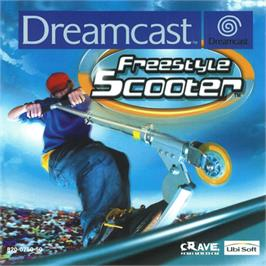 Box cover for Razor Freestyle Scooter on the Sega Dreamcast.