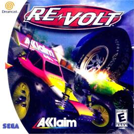 Box cover for Re-Volt on the Sega Dreamcast.