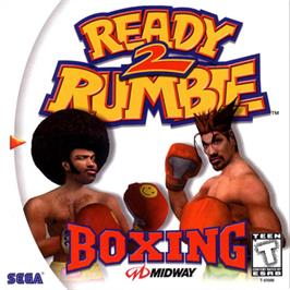 Box cover for Ready 2 Rumble Boxing on the Sega Dreamcast.
