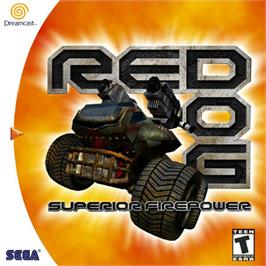 Box cover for Red Dog: Superior Firepower on the Sega Dreamcast.