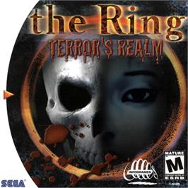 Box cover for Ring: Terror's Realm on the Sega Dreamcast.