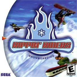 Box cover for Rippin' Riders Snowboarding on the Sega Dreamcast.