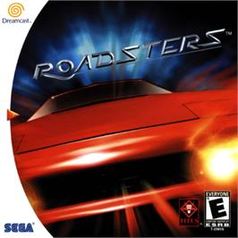 Box cover for Roadsters on the Sega Dreamcast.