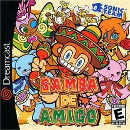 Box cover for Samba De Amigo on the Sega Dreamcast.