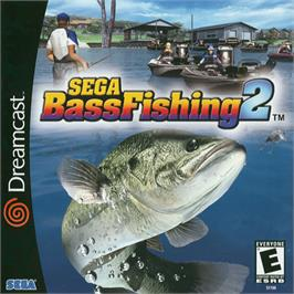 Box cover for Sega Bass Fishing 2 on the Sega Dreamcast.