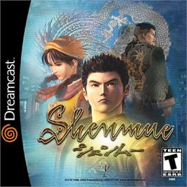 Box cover for Shenmue on the Sega Dreamcast.