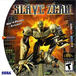 Box cover for Slave Zero on the Sega Dreamcast.