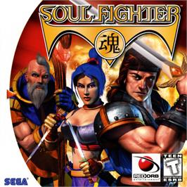 Box cover for Soul Fighter on the Sega Dreamcast.