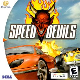 Box cover for Speed Devils on the Sega Dreamcast.