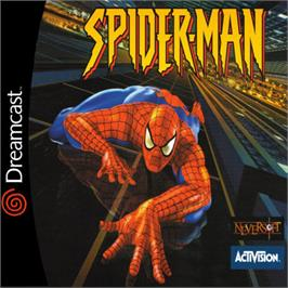 Box cover for Spider-Man on the Sega Dreamcast.