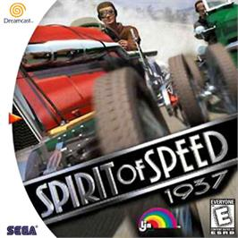 Box cover for Spirit of Speed 1937 on the Sega Dreamcast.
