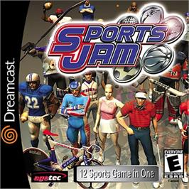 Box cover for Sports Jam on the Sega Dreamcast.