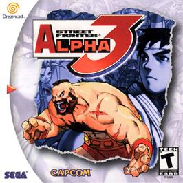 Box cover for Street Fighter Alpha 3 on the Sega Dreamcast.