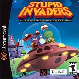 Box cover for Stupid Invaders on the Sega Dreamcast.