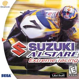 Box cover for Suzuki ALSTARE Extreme Racing on the Sega Dreamcast.