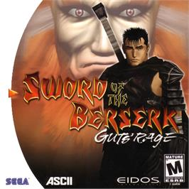 Box cover for Sword of the Berserk: Guts' Rage on the Sega Dreamcast.
