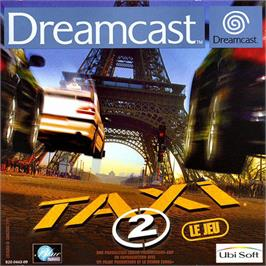 Box cover for Taxi 2: Le Jeu on the Sega Dreamcast.