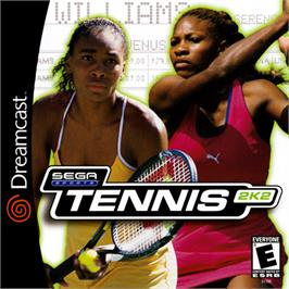 Box cover for Tennis 2K2 on the Sega Dreamcast.
