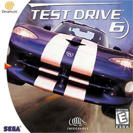 Box cover for Test Drive 6 on the Sega Dreamcast.