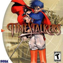 Box cover for Time Stalkers on the Sega Dreamcast.