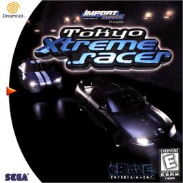 Box cover for Tokyo Xtreme Racer on the Sega Dreamcast.