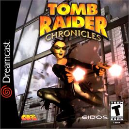 Box cover for Tomb Raider: Chronicles on the Sega Dreamcast.