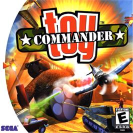 Box cover for Toy Commander on the Sega Dreamcast.