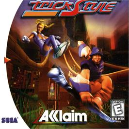 Box cover for Trickstyle on the Sega Dreamcast.