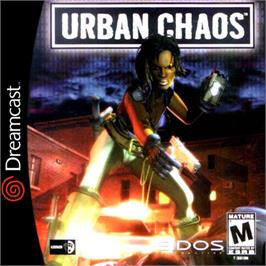 Box cover for Urban Chaos on the Sega Dreamcast.