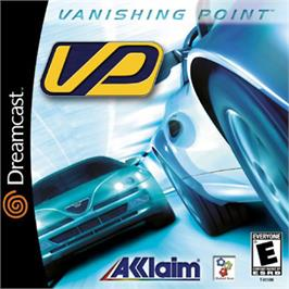 Box cover for Vanishing Point on the Sega Dreamcast.