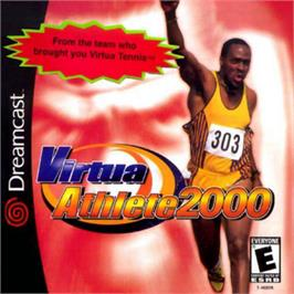 Box cover for Virtua Athlete 2K on the Sega Dreamcast.