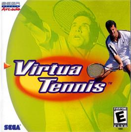 Box cover for Virtua Tennis on the Sega Dreamcast.