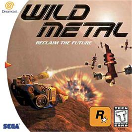 Box cover for Wild Metal on the Sega Dreamcast.