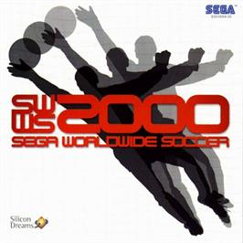 Box cover for Worldwide Soccer 2000: Euro Edition on the Sega Dreamcast.