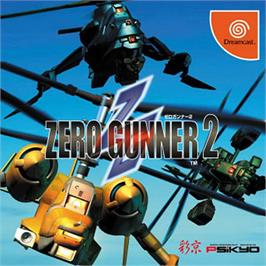Box cover for Zero Gunner 2 on the Sega Dreamcast.