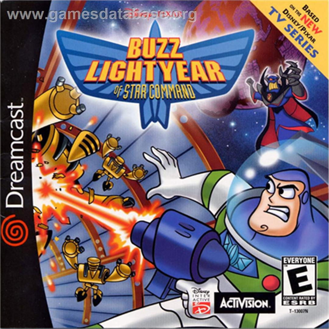 for Toy Story 2: Buzz Lightyear of Star Command on the Sega Dreamcast