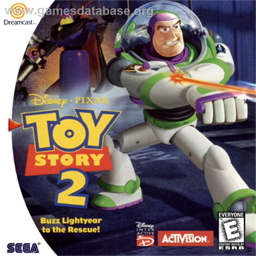 Box cover for Toy Story 2: Buzz Lightyear to the Rescue on the Sega