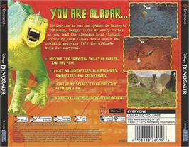 Box back cover for Dinosaur on the Sega Dreamcast.