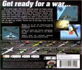 Box back cover for Iron Aces on the Sega Dreamcast.